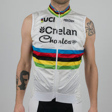 "Wind Vest Soft Shell ""World Champion - W. Van Aert"" - Veranda's Willems Crelan"