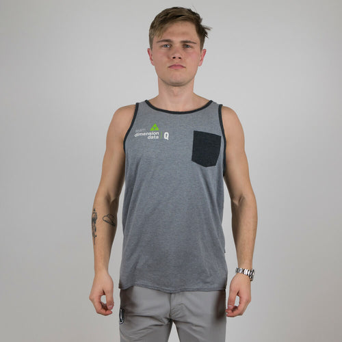Oakley Basic Tee Grey Front Pocket - Dimension Data