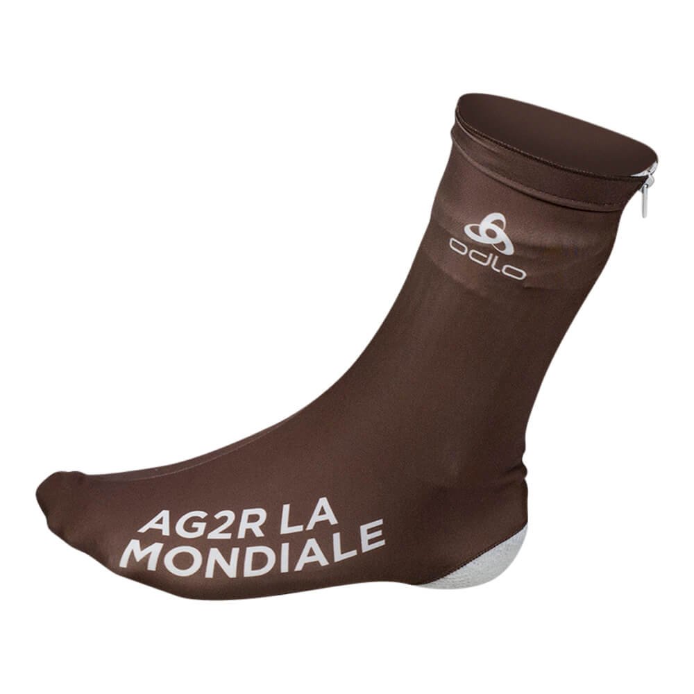 Aero shoe covers - AG2R La Mondiale