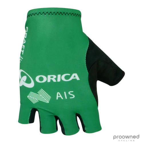 Craft Summer Gloves - TDF Green Edition - Orica-GreenEDGE