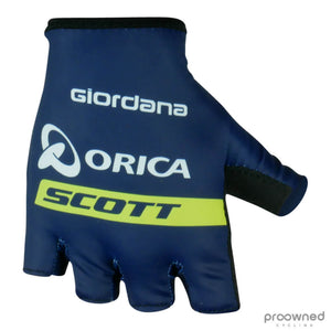 Giordana Summer Gloves - Orica-Scott