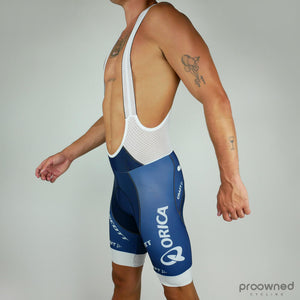 Aero BIB shorts - TDF White Edition - Orica GreenEDGE