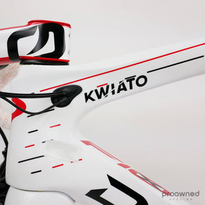 Pinarello Dogma F10 X-light - 53 - carbon road bike - Dura Ace Di2 - Polish champion Kwiato - Team Sky
