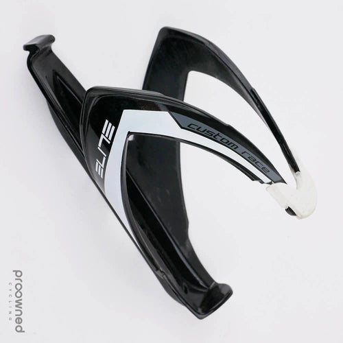 Elite Custom Race Bottle Cage - Glossy Black