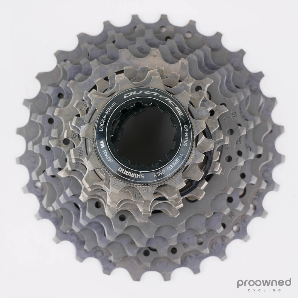 NEW Shimano Dura Ace CS-R9100 Road Bike Ti Cassette Sprocket 11 Speed 11-25T