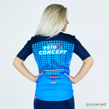 Short Sleeve Rain Jersey - Team VeloConcept Women
