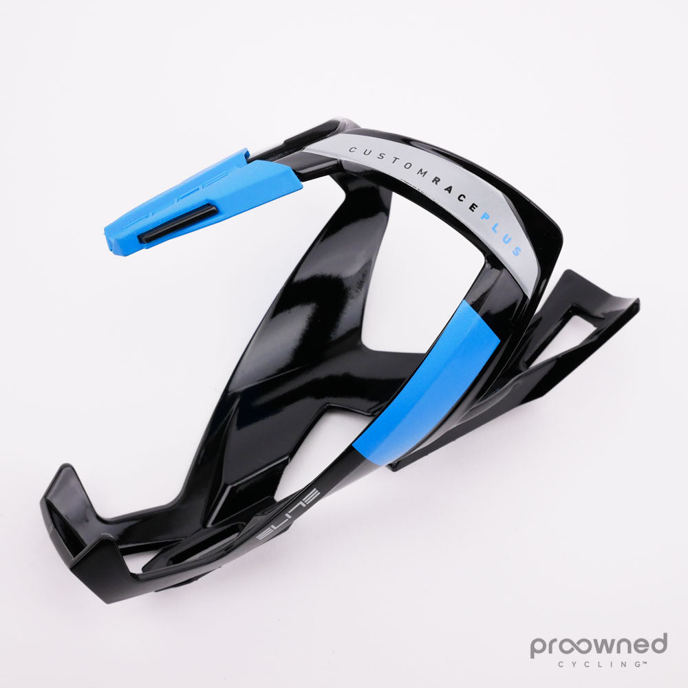 Elite Custom Race Plus Bottle Cage Black//Blue