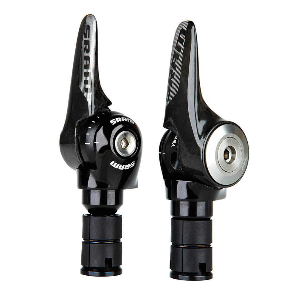Sram Red SL-1190 R2C TT 2x11 speed TT barend shifters - new but mounted
