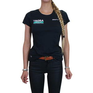 Women's T-shirt black - Bora Hansgrohe - Craft