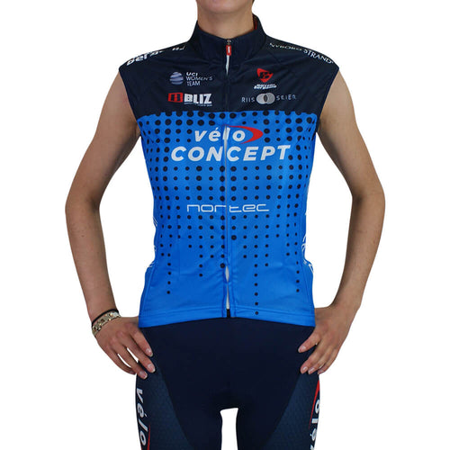 Wind Vest - Team Veloconcept Women