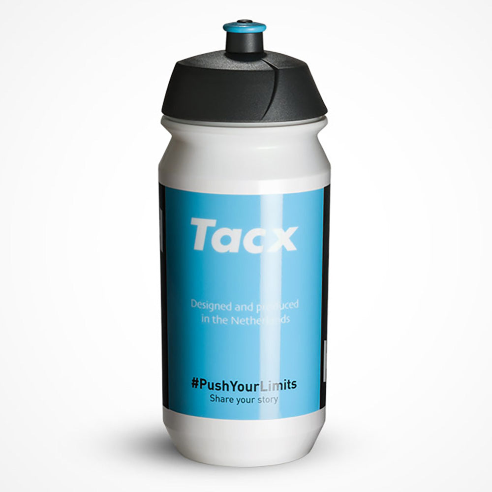 Water bottle - Tacx team shiva T5730 bio 500ml - blue/white/black
