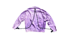 Load image into Gallery viewer, 'Harsh Lavender' Denim Jacket
