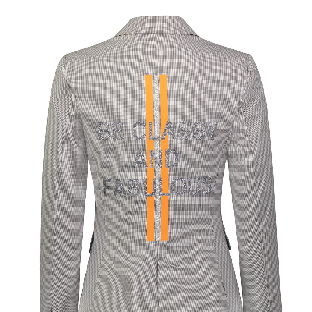 """BE CLASSY AND FABULOUS"" BLAZER"