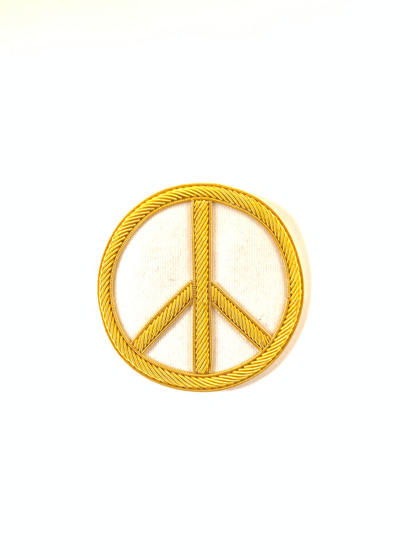 Peace White/Gold