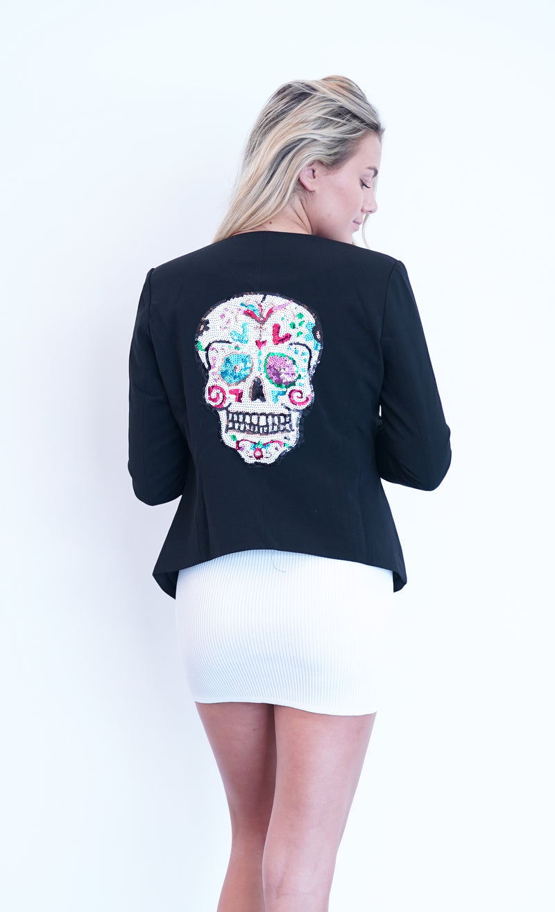 "THE ""ROLLING STONE"" AND ""SKULL"" BLAZER"