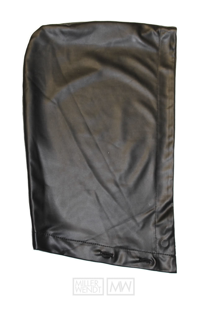 Black Carter Pleather Hood