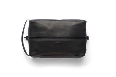 Classic Leather Shoe Bag, Essex Horween Leather In Brown Or Black