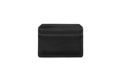 Leather Credit Card Case In Classic Essex Horween Leather