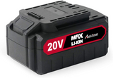 Avid Power 20V MAX Lithium Ion Rechargeable Battery 4.0 A