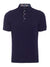 Navy Contrast Polo Shirt