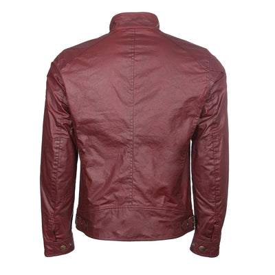Cardinal Red Racemaster Waxed Jacket