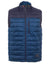 Filati | Paul Smith - Blue Padded Zip-Through Gilet