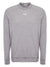Grey Melange Long-Sleeved Chest Logo Top