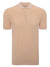 Circolo 1901 Men's Polo Shirt in Pastel Peach