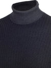 Roll Neck In Nero