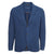 Blue Stretch Cotton Jacket
