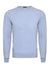 Baby Blue Merino Wool Crew Neck Jumper
