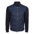 Navy Square Texture Bomber Jacket