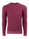 Crew Neck In Burgundy