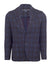 Blue Denim Checked Blazer