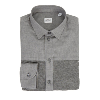 Grey Two-Tone Shirt