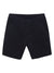 Men's Black Stretch Cotton-Stretch Shorts
