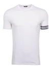 White Arm Band T-Shirt