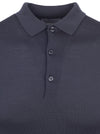 Slate Grey Belper Knitted Shirt