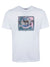 White 'Zebra Scene' Organic Cotton T-Shirt
