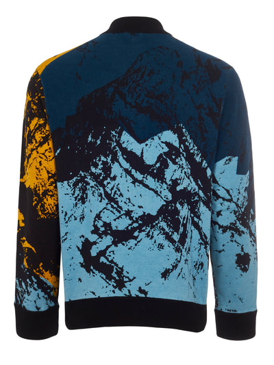 Blue Mountain Zip-Through Top