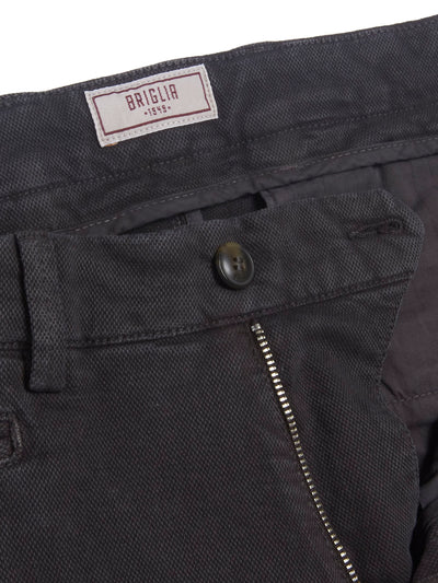 Charcoal America Pocket Slim Fit Trousers