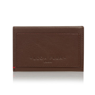 ENVELOPE CARD HOLDER PCSLEA - Brown