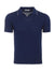 Blue Mattoncini Polo Shirt