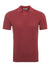 Earth Red Pallino Polo Shirt