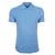 Blue Sebastian Towelling Polo Shirt