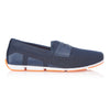 Navy Breeze Penny Loafers