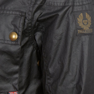 Black Racemaster Wax Jacket