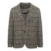 Anthracite Checked Blazer
