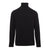 Circolo 1901 - Black Cotton Roll Neck Top