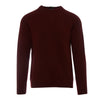 Burgundy Lambswool Raglan Sweater